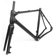 Full Carbon Cyclocross Bike Frameset Bicycle Frame Fit For Shimano Groupset