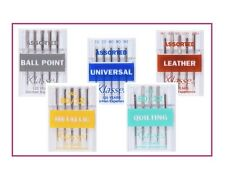 KLASSE SEWING MACHINE NEEDLES Universal Jeans Sharps Quilting Metallic Leather