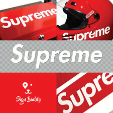 Supreme box logo sticker vinyl decal tablet skateboard snowboard car wall laptop