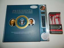 Presidents of USA Audio Book Interactive Speeches Historical Events w/Earbuds