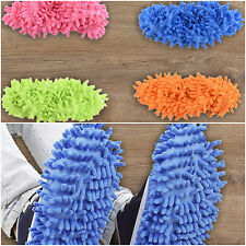House Dust Cleaner Floor Slipper Cover Mop Cleaning Shoes Lazy Bathroom Shoe