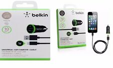 BELKIN 2.1A USB CAR CHARGER IPAD IPHONE 6 PLUS 5S 5C 4S IN RETAIL PACKAGING