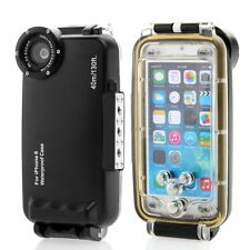 40M130ft Waterproof Underwater diving Housing Photo Case For iPhone 6/6S Plus