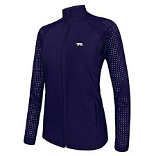Running Bare LEAGUE OF HER OWN CARDIO ZIP JACKET,NAVY*AUS Brand-Size 10,12 Or 16