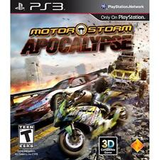Motor Storm: Apocalypse for Playstation 3 Brand New! Factory Sealed! Motorstorm