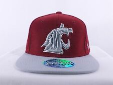 WASHINGTON STATE COUGARS NCAA ADULT (S, M/L, XL)FLEX/ FITTED CAP HAT (H-133)