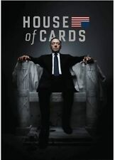 House of Cards: The Complete First Season (DVD, 2013, 4-Disc Set) Like New