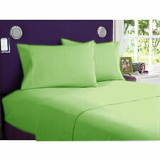 OFFER 1000-1200 TC HOTEL BEDDING ITEM EGYPTIAN COTTON ALL-SIZE SAGE SOLID