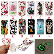 Silicone TPU Luminous Skin Soft Case Phone Back Cover For Huawei & Apple iPhone