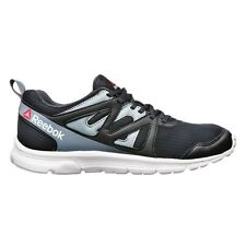 Reebok Run Supreme-2 MEN'S RUNNING SHOES, BLACK/WHITE - Size US 11.5, 12 Or 13