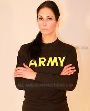 NWT Army Physical Training PT APFU STANDARD LONG SLEEVE SHIRT SMALL & XXXLARGE