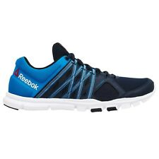 Reebok YourFlex Train-8 MEN'S RUNNING SHOES Navy/Blue/White - Size US 7 Or 10.5