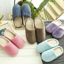Women Men Slippers Open Toe Indoor Home House Soft Shoes Soft Warm Cotton Shoes
