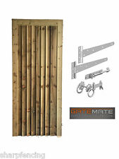 Closeboard Gate 1.8m x 0.9m Plus Single Gate Kit Fittings Included