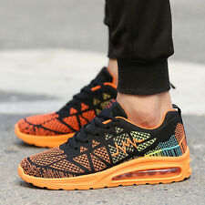Men's Running Trainers Boys Gym Walking Shock Absorber Sports Shoes Sneakers