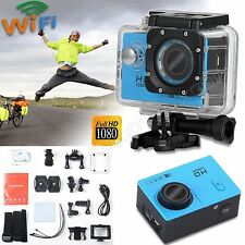 HD 1080P 2'' Waterpoof Sport Camera Helmet Action Cam Video Camcorder DV WiFi