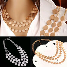 Charm Choker Chunky Hot Jewelry Necklace Fashion Pendant Statement Bib Chain