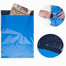 10x13 Poly Mailers Polybag Shipping Envelopes Couture Boutique Bags 2.5 Mil Blue