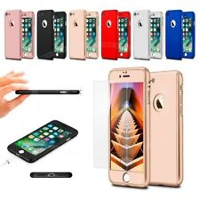 For Apple iPhone 6s (4.7 inch) Hard Case 360 Dual Layer & Tempered Glass