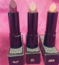 MAC Mineralize Rich Lipstick - Nose For Style/Rare Breed/Barking Gorgeous NIB