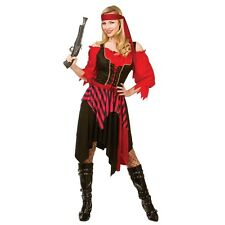 Wicked Women's Adults Fancy Dress Shipwrecked Pirate Costume