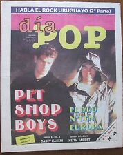 PET SHOP BOYS PHOTO COVER 1987 MUSIC MAGAZINE IN SPANISH  INCLUDES GROUP ARTICLE