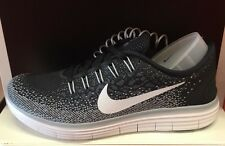 WMNS Nike Free RN Distance 827116-010 Black/White-Dark Grey-Wolf Grey Women's