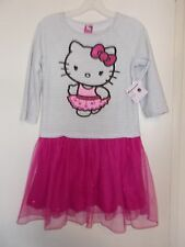 Girls Size 10/12 OR 14/16 Sanrio Hello Kitty Dress NWT