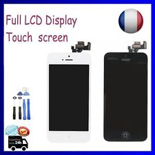 Full LCD Display Touch Screen Digitizer Assembly  for iPhone 5 Black/White+Tools