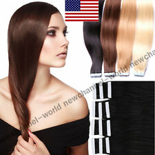 Seamless AAAAA+ Tape in Hair Extension Brazilian Remy Human Hair Extensions B110