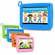 7'' inch Quad Core HD Tablet for Kids Android 4.4 KitKat Dual Camera Child gifts