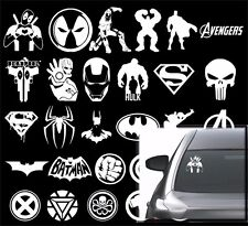Marvel Superhero Deadpool, Avengers Comics Vinyl  sticker decal emblem 41 type