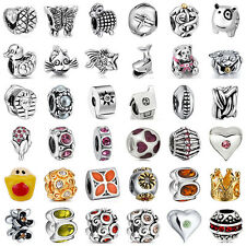 European Sterling 925 Silver Charms Beads for Lot Jewelry Bracelet Necklace US13