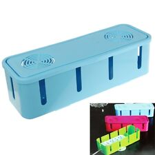 Electric Power Wire Cable Winder Socket Storage Organizer Box, Si