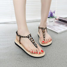 Women Flat Fashion Beach Flip-flops Slippers Summer Antiskid Cozy Sandals Shoes