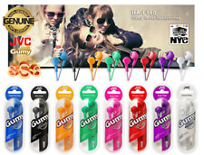 JVC Gumy HA-F150 In-Ear Canal Earbuds Headphones Gummy Headset for ipod iphone