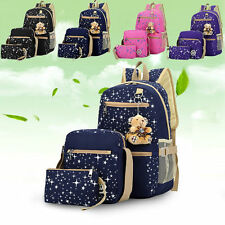 Women bags Backpack Girl Fashion School Shoulder Bag Rucksack Canvas Travel Bag