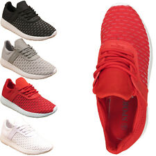 WOMENS LIGHTWEIGHT LACE UP GYM RUNNING LADIES MESH TRAINERS SHOES UK 3 4 5 6 7 8