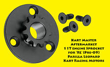 11T or 12T Engine Sprocket  IAME RL Parilla Leopard FREE SHIPPING!  Racing Kart