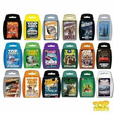 TRAVEL/ TOP TRUMPS / EDUCATION Pocket Games - For Adults & Children