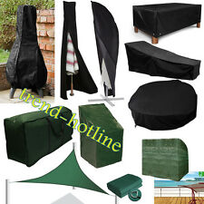Waterproof Furniture Covers Outdoor Garden Patio Bench/Table/Parasols/Lounge/BBQ