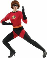 Ladies Mrs The Incredibles dressing up costumes outfit superhero Disney film tv