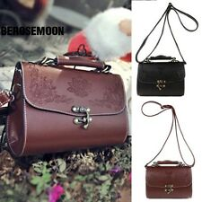 New Fashion Women Synthetic Leather Vintage Style Shoulder Bag Casual B0N04