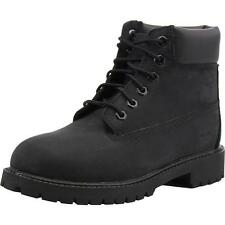 Timberland 6 Inch Classic Boot Junior Black Nubuck Boots