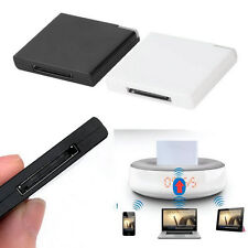Bluetooth A2DP Music Receiver Adapter for iPod iPhone 30-Pin Dock Speaker UO