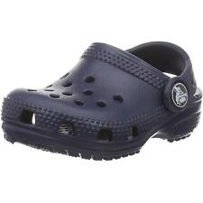 Crocs Kids Classic Clog Navy Croslite Sandals
