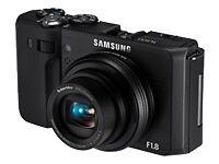 Samsung DualView TL500 10.0 MP Digital Camera - Black