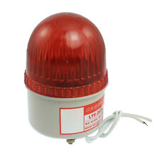 AC 220V 15W Red Light Industrial Signal Tower Flash Warning Lamp CT F6R7
