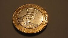 LORD KITCHENER 1st WORLD WAR £2 COIN WITH SEVERAL ROYAL MINT ERRORS - RARE