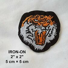 Tiger Embroidery Cougar Feline IRON-ON Cats Patch Wild Cat Applique